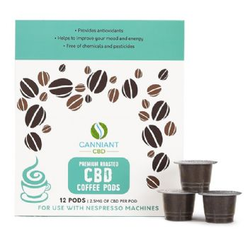 Canniant 30mg CBD Nespresso Coffee Pods Pack of 12